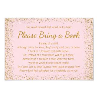 El rosa y el oro traen tarjetas de un libro