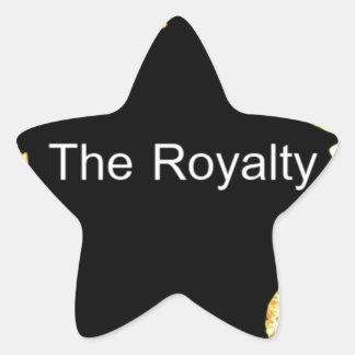 El Royalty.png Calcomanía Forma De Estrella Personalizadas