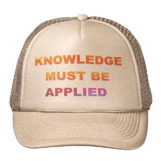 El saber gorras
