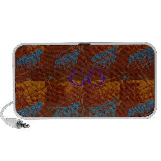 El safari de la sabana deja para ir mot de Hakuna iPhone Altavoces