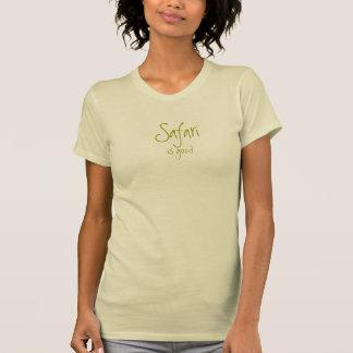 El safari es bueno: Señoras Camisetas