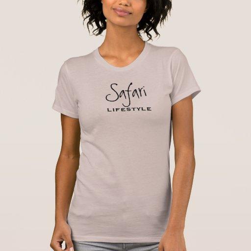 El safari es una forma de vida camiseta