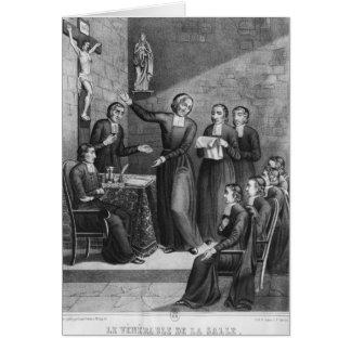 El Saint venerable Jean-Baptiste de La Salle Tarjeta De Felicitación