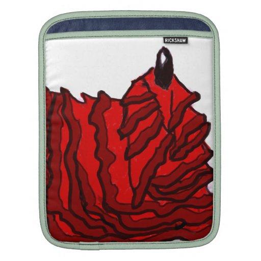 El salir del sueño - llama del flamenco - R Fundas Para iPads
