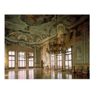 El salón de baile (foto) postal
