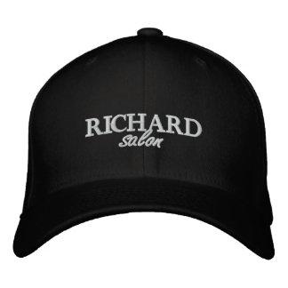 El salón de Richard bordó el casquillo cabido Gorros Bordados
