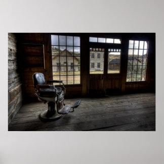 El salón de Skinner - pueblo fantasma de Bannack Poster