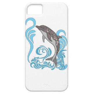 El salpicar del delfín funda para iPhone SE/5/5s