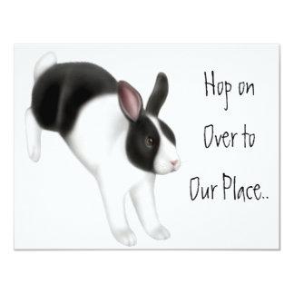 El salto del conejo comunicado personalizado