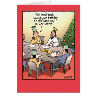 El saludo del cumpleaños chupa la tarjeta de