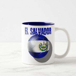 El Salvador el Brasil 2014 Futbol Cuscatlecos Tazas