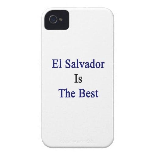El Salvador es el mejor iPhone 4 Case-Mate Cobertura