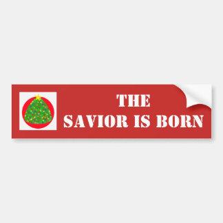 El salvador es pegatina para el parachoques nacida