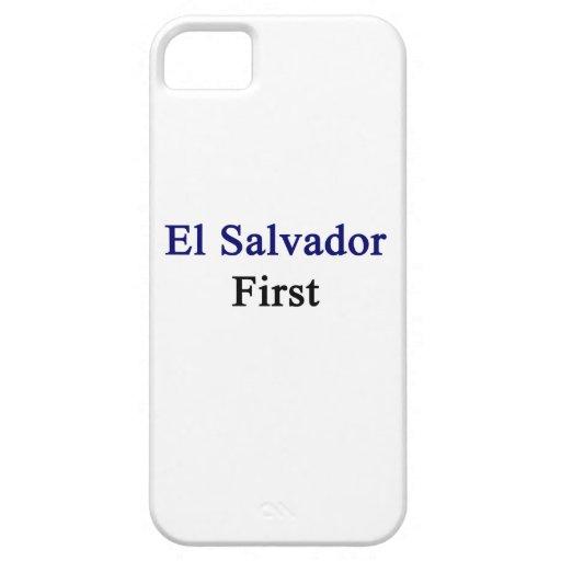 El Salvador primero iPhone 5 Carcasas