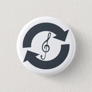 """El """"salvamento suena"""" la insignia del botón"""