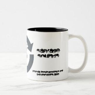 """El """"salvamento suena"""" la taza de café"""