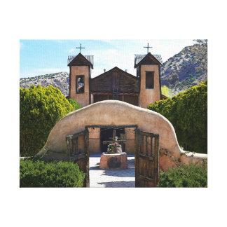 El Santuario De Chimayo Impresión En Lienzo