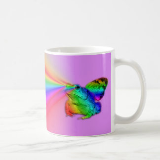 El sapo necesita silenciosamente taza de café