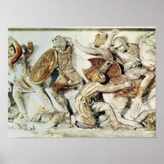El sarcófago de Alexander Poster