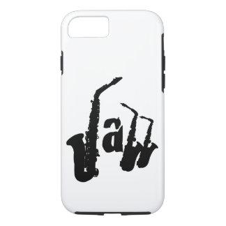 El saxofón del jazz elige su fondo Iphone Case1 Funda iPhone 7