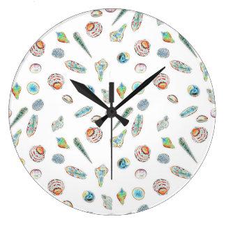 El Seashell adornó el reloj