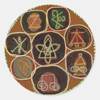 El SELLO de CURA:  Emblema de Karuna Reiki