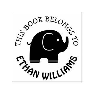 El sello del elefante del bebé este libro