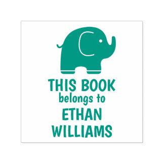 El sello verde del elefante este libro pertenece a