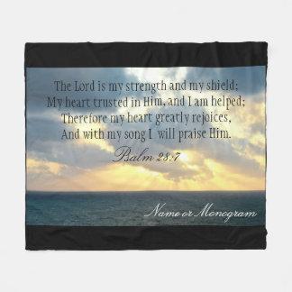 El señor es mi biblia del cristiano del salmo de manta polar