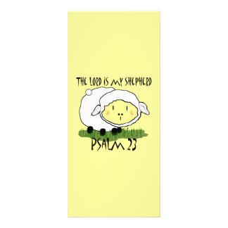 El SEÑOR es mi camiseta U del niño del salmo 23 Tarjeta Publicitaria A Todo Color