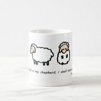 El señor es mi pastor taza de café