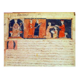 El señor feudal que predica su sermón postal