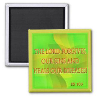 El señor perdona nuestros pecados… imanes
