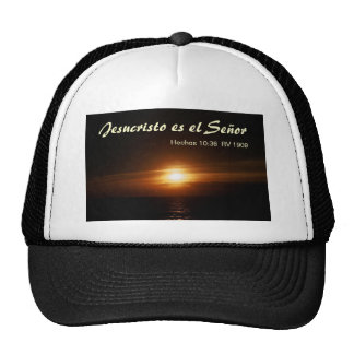 EL Señor (sombrero) de Jesucristo es Gorro De Camionero