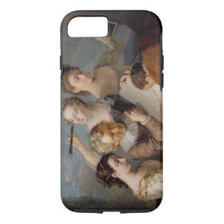 El sentido de la vista, c.1744-47 (aceite en lona) funda iPhone 7
