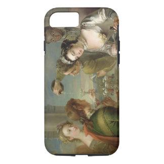 El sentido del gusto, c.1744-47 (aceite en lona) funda iPhone 7