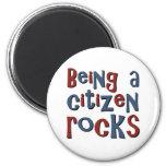 El ser un ciudadano oscila iman de frigorífico