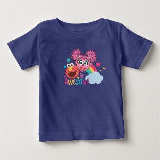 El Sesame Street el | Elmo y Abby - sea Camiseta De Bebé