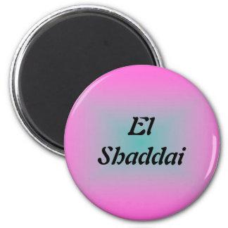 EL Shaddai - todo suficiente Imanes