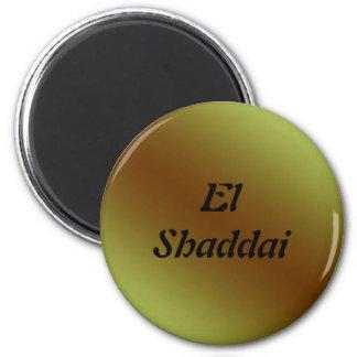 EL Shaddai - todo suficiente Iman Para Frigorífico