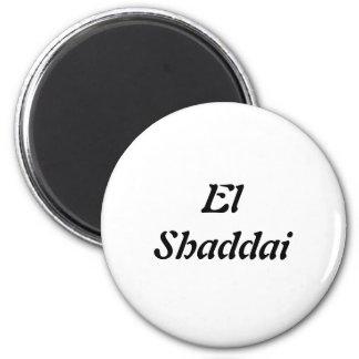 EL Shaddai - todo suficiente Imán De Nevera