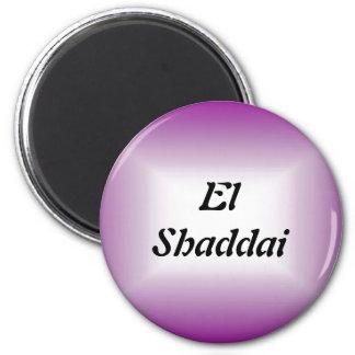 EL Shaddai - todo suficiente Imán Para Frigorifico
