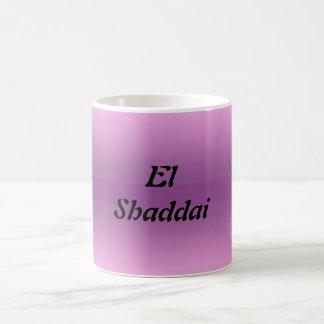 EL Shaddai - todo suficiente Tazas