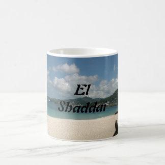 EL Shaddai - todo suficiente Taza De Café