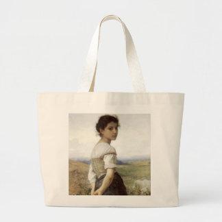 El Shepherdess joven - la chica joven Bolsa