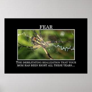 El significado verdadero del miedo [XL] Póster