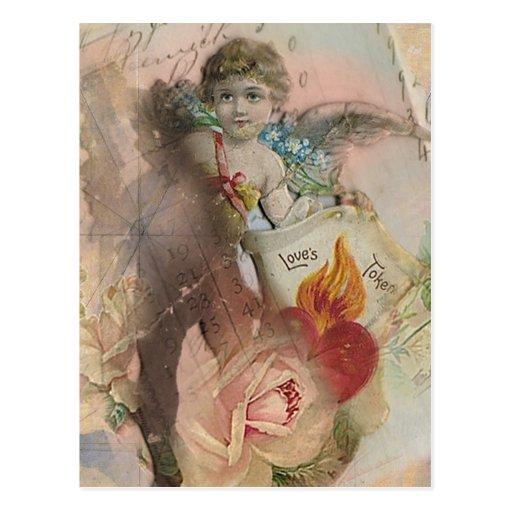 El símbolo del amor tarjeta postal