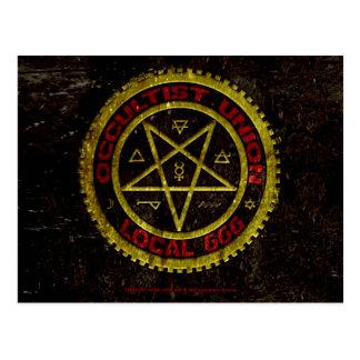 EL SINDICATO LOCAL 666 DEL OCCULTIST    019 POSTAL