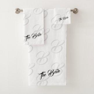 El sistema de la toalla del cuarto de baño de la