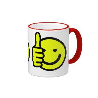 el smiley asalta el regalo divertido tazas
